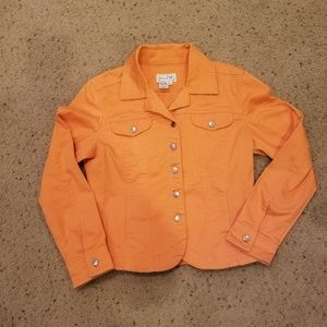 3 for $10 SALE. Live a Little Peach Jacket